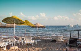 Plaża Ortakent, Turcja