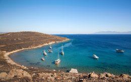 Zatoka, wybrzeże miasta Ortakent, Turcja