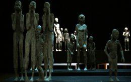 Posągi z drewna lipowego Trzciński Łuaksz