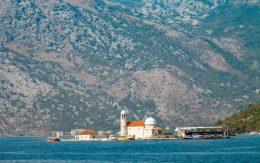 Montenegro kościół na wodzie