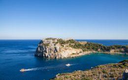 Zatoka Anthony Quinn w Faliraki, Rodos