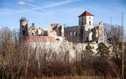 Ruiny zamku w tenczynku