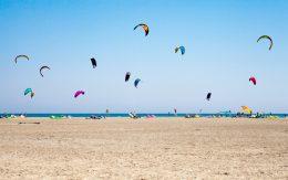 Kitesurfing- Prasonisi in Rhodes