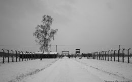 barak kanady obóz koncentracyjny zima