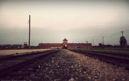 Brama obozu Birkenau