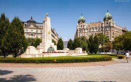 plac czerwony Budapeszt