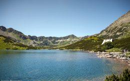 pięć stawów jeziora kary lodowcowe
