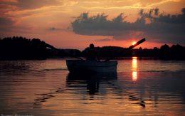 Jeziora mazurskie łódka