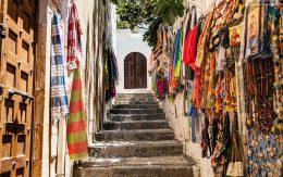 Schody na akropol sklep z chustami