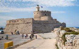 Forteca świętego Mikołaja wyspa Rodos