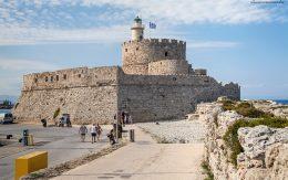 Twierdza świętego Mikołaja na wyspie Rodos