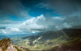 Ze szczytu Giewontu. Tatrzański Park Narodowy