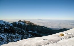 Kasprowy wierch zimą - szczyt