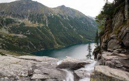 wodospad z czarnego stawu tatry