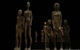 Drewniane postacie rzeźbione w lipie, Łukasz Trzciński