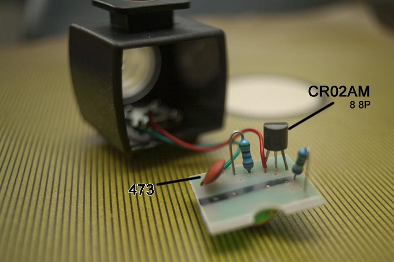 układ elektroniczny w fotoceli