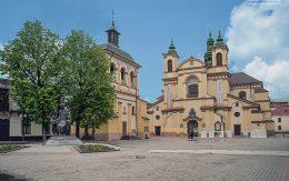 kościół Miasto Iwano Frankiwsk Ukraina