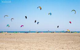 Kitesurfing w Prasonisi na wyspie Rodos