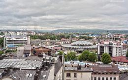 Miasto Iwano Frankiwsk Ukraina