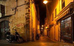 ulice miasta Lloret de mar
