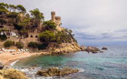 Zamek-Lloret de Mar