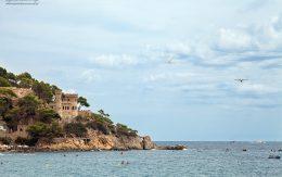 Plaża i zamek Hiszpania, Lloret de mar