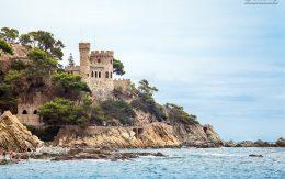 Zamek d'en Plaja w Lloret de mar wakacje w Hiszpanii