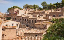 Domy w starym mieście Tossa