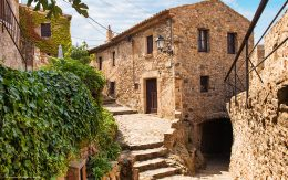 Średniowieczne zabudowy Tossa de mar