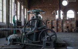 Stara maszyna hutnicza