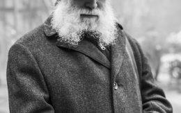 Portret dziadka z brodą