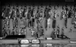 gablota z kluczami