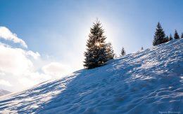 Wejście zimowe na Gęsią Szyję.