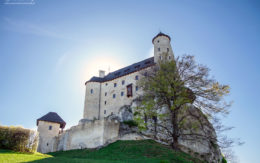 Piękny zamek w Bobolicach