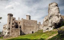 Ogrodzieniec, zamek na szlaku orlich gniazd. Jura Krakowsko-Częstochowska