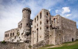 Mury zamku Ogrodzieniec, Podzamcze, Polska