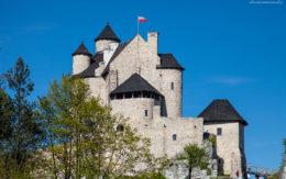 Ruiny zamku Bobolice