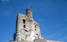Wieża zamku w Mirowie