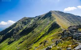 Baraniec szczyt na Słowacji 2184mnpm