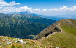 Krajobraz Tatr Słowackch, Baraniec