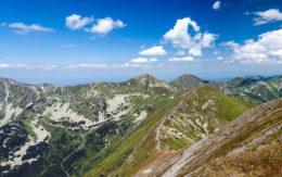 Panorama z Baranca Wielkiego