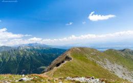 Widok z Barańca, Tatry Zachodnie