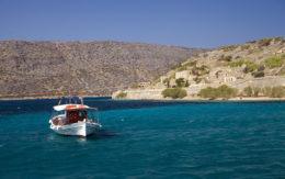 Kuter rybacki, Grecja, Spinalonga