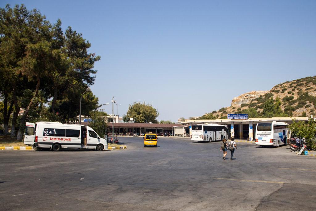 Dworzec autobusowy Kusadasi centrum